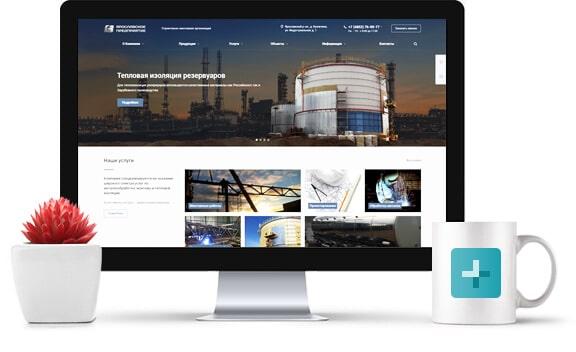 копоративный сайт